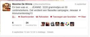 Maxime De Winne papa